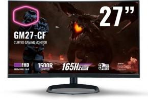 Monitor CoolerMaster GM27-CF + ZADARMO Antivírus Bitdefender Internet Security v hodnote 29.99,-EUR