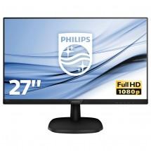"""Monitor Philips 27 """"Full HD, LCD, LED, IPS, 5 ms, 60 Hz, 273V7QJA"""