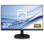 "Monitor Philips 27 ""Full HD, LCD, LED, IPS, 5 ms, 60 Hz, 273V7QJA"