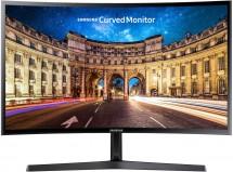 "Monitor Samsung C24F396, 24"", zakrivený, 1920x1080, 4ms"