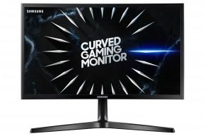 Monitor Samsung C24RG50, 24'', zakrivený, FullHD, 144 Hz, čierna + ZADARMO USB-C Hub Olpran v hodnote 19,9 EUR
