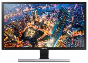 Monitor Samsung U28E590, 28'', 4K Ultra HD, čierny
