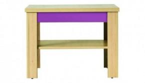 Monza - stolík, CD1 (višňa cornvall, fialová)