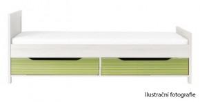 Monza - úl. priestor pod postel, CD 16 (višňa cornvall, zelená)