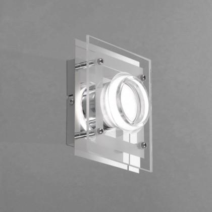 Moody - Nástenné svietidlo, LED (chróm)
