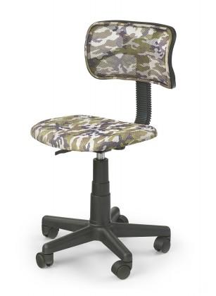 Moro - detská stolička (zeleno-čierna)