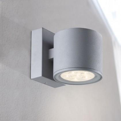 Morris - Nástenné svietidlo, LED (sivá)