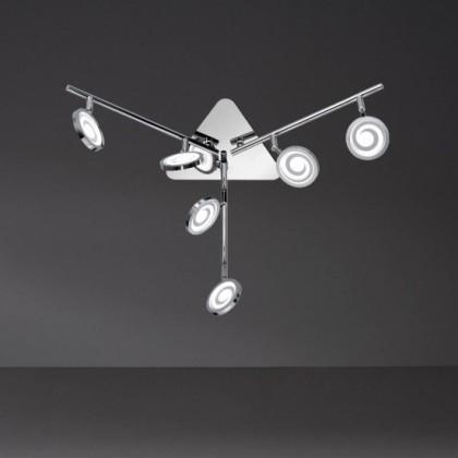 Morris - Stropné osvetlenie, LED (chróm)