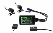 Motokamera CEL-TEC MK01 FullHD s GPS, WIFI, držiak +zadná kamera
