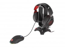 Mouse Bungee Genesis Vanad 500 + hub 2x USB Typ-A