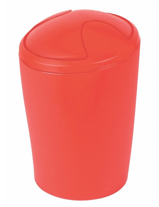 Move-Odpadkový kôš red medium