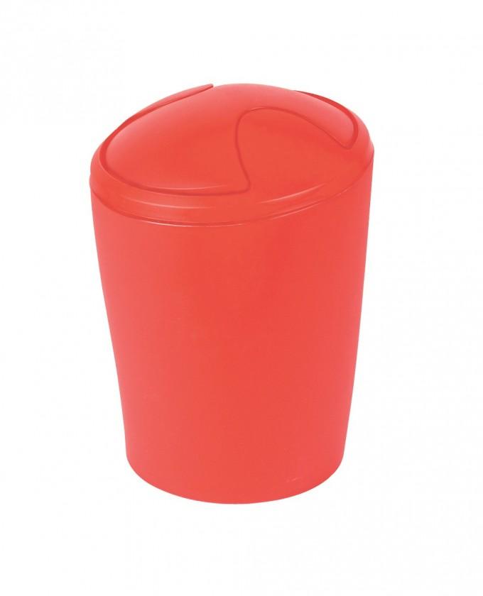 Move-Odpadkový kôš red
