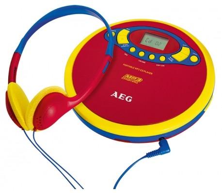 MP3, MP4 prehrávače,discmany AEG CDP 4228