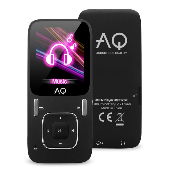 MP3, MP4 prehrávače,discmany AQ MP02