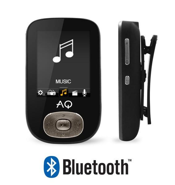 MP3, MP4 prehrávače,discmany AQ MP03 černá
