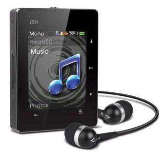 MP3, MP4 prehrávače,discmany  Creative ZEN X-Fi3 8GB