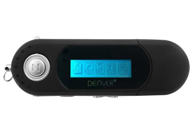 MP3, MP4 prehrávače,discmany Denver MP-4014