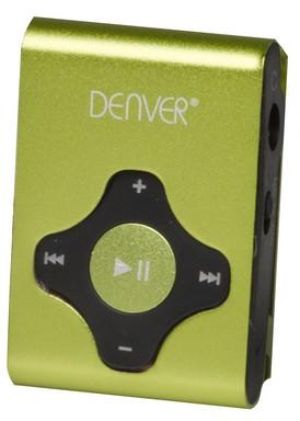 MP3, MP4 prehrávače,discmany Denver MPS-409C 4 GB, zelená