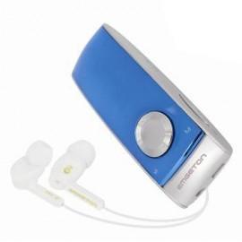 MP3, MP4 prehrávače,discmany  Emgeton CULT X8 4GB Silver/Blue, bez FM, OLED+microSD