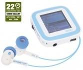 MP3, MP4 prehrávače,discmany Emgeton CULT X9 4GB White/Blue ROZBALENO
