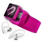 MP3, MP4 prehrávače,discmany Energy System 2504 Sport 4GB Fuchsia Red ROZBALENO