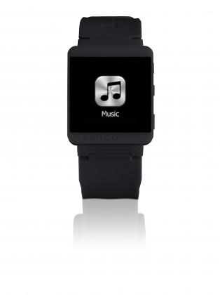 MP3, MP4 prehrávače,discmany Lenco SportWatch-100 čierny