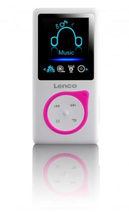 MP3, MP4 prehrávače,discmany Lenco Xemio-657, ružový