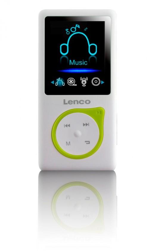 MP3, MP4 prehrávače,discmany Lenco Xemio-657, zelený
