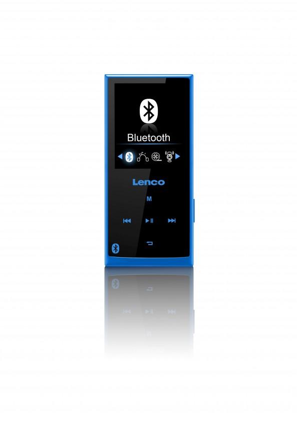 MP3, MP4 prehrávače,discmany Lenco Xemio 760 8 GB, modrá