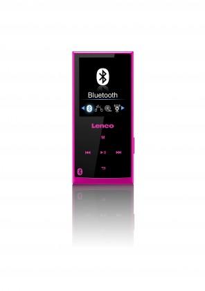MP3, MP4 prehrávače,discmany Lenco Xemio-760BT, ružový POUŽITÝ, NEOPOTREBOVANÝ TOVAR