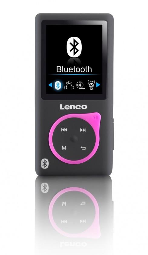 MP3, MP4 prehrávače,discmany Lenco Xemio 767 8 GB, růžová
