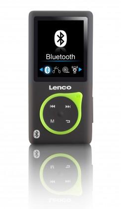 MP3, MP4 prehrávače,discmany Lenco Xemio 767 8 GB, zelená