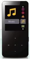 MP3, MP4 prehrávače,discmany MP 126/8GB