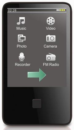 MP3, MP4 prehrávače,discmany MP Man BT 29 8GB ROZBALENÉ
