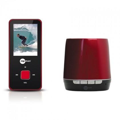 MP3, MP4 prehrávače,discmany MPman BT 18 4GB + Bluetooth reproduktor (BT 18 4GB SP)