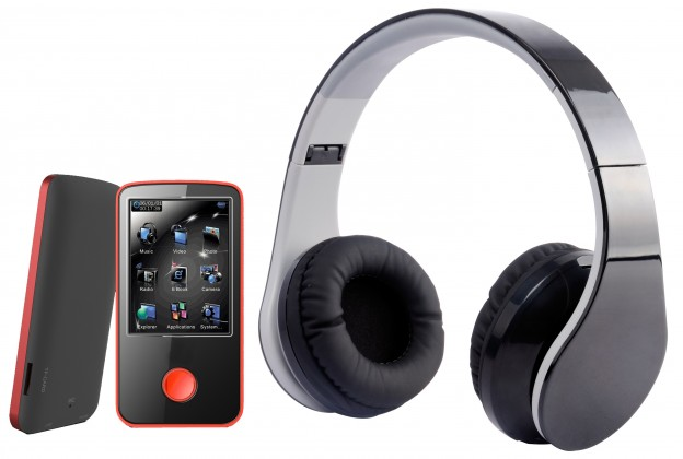 MP3, MP4 prehrávače,discmany MPman BT 24 4GB + bezdrôtové slúchadlá (BT 24 4GB PAK)