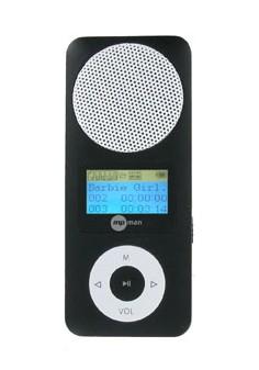 MP3, MP4 prehrávače,discmany MPman FIESTA2 2GB Black