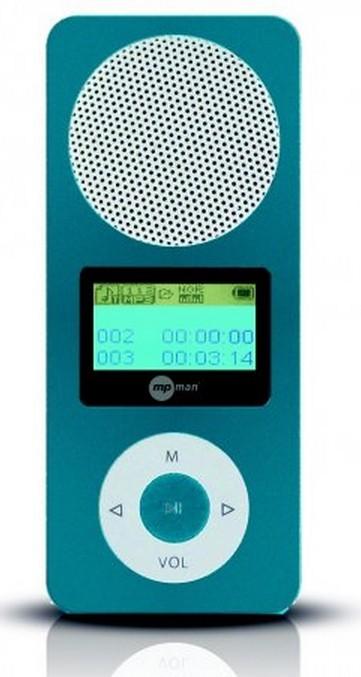 MP3, MP4 prehrávače,discmany MPman FIESTA2 2GB Blue ROZBALENO