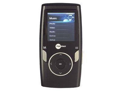 MP3, MP4 prehrávače,discmany  MPMan MP 162 FM 4GB Black