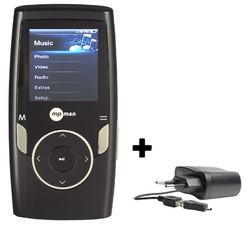 MP3, MP4 prehrávače,discmany  MPMan MP 162 FM 8GB Black