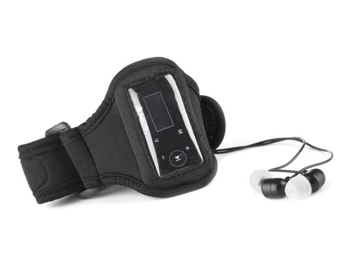 MP3, MP4 prehrávače,discmany  NGS MP3 přehrávač AQUA/ 2GB/ FM rádio/ voděodolný/ černý