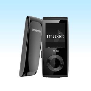 MP3, MP4 prehrávače,discmany Orava M-4G 4 GB, čierna