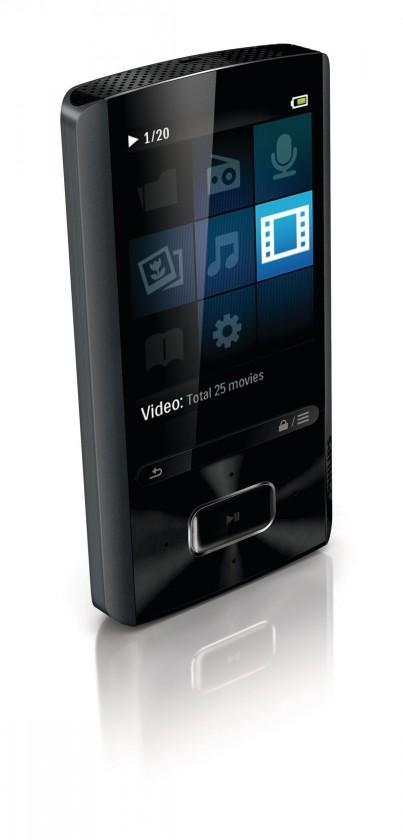 MP3, MP4 prehrávače,discmany  Philips Ariaz SA4ARA16KF 16GB, (SA4ARA16KF/12)
