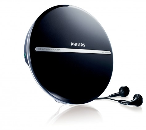 MP3, MP4 prehrávače,discmany Philips EXP2546
