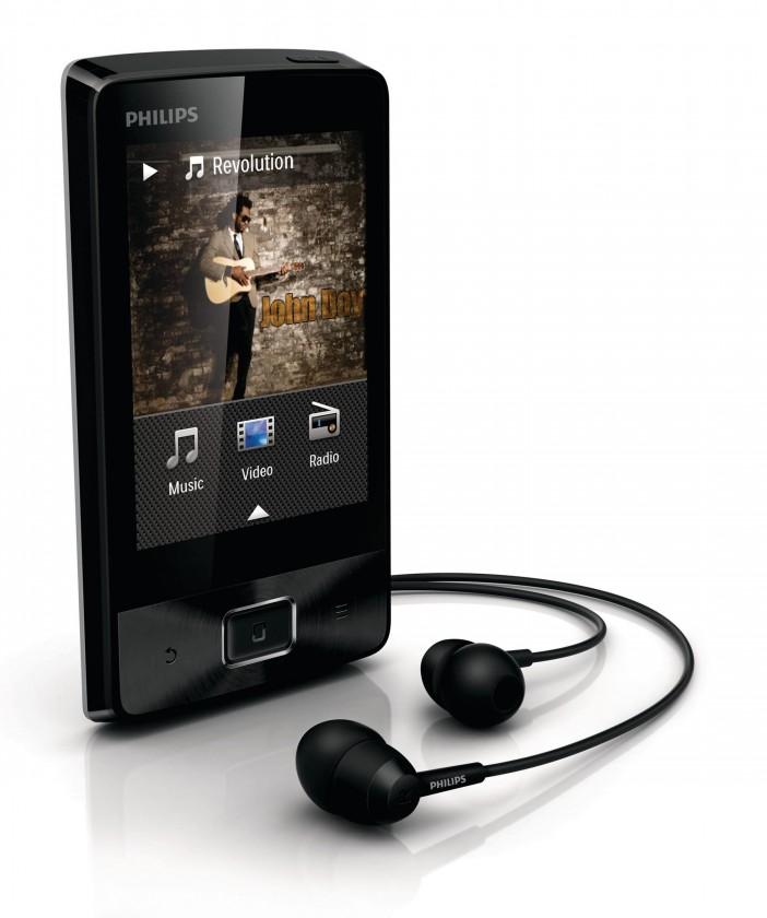 MP3, MP4 prehrávače,discmany  Philips Muse SA4MUS16KF 16GB, (SA4MUS16KF/12)