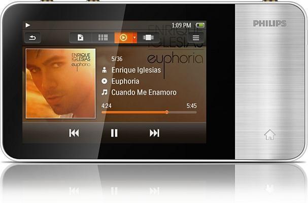 MP3, MP4 prehrávače,discmany  Philips SA3MUS16S/02