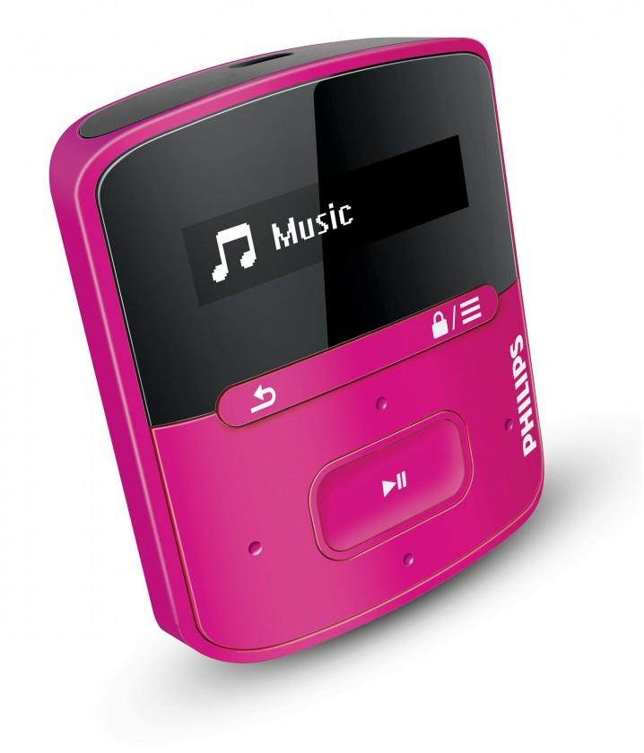 MP3, MP4 prehrávače,discmany Philips SA4RGA02PN