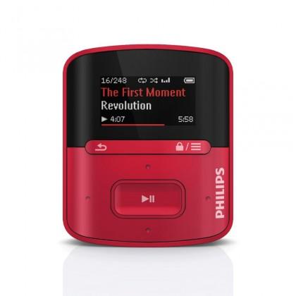 MP3, MP4 prehrávače,discmany Philips SA4RGA04RF ROZBALENÉ