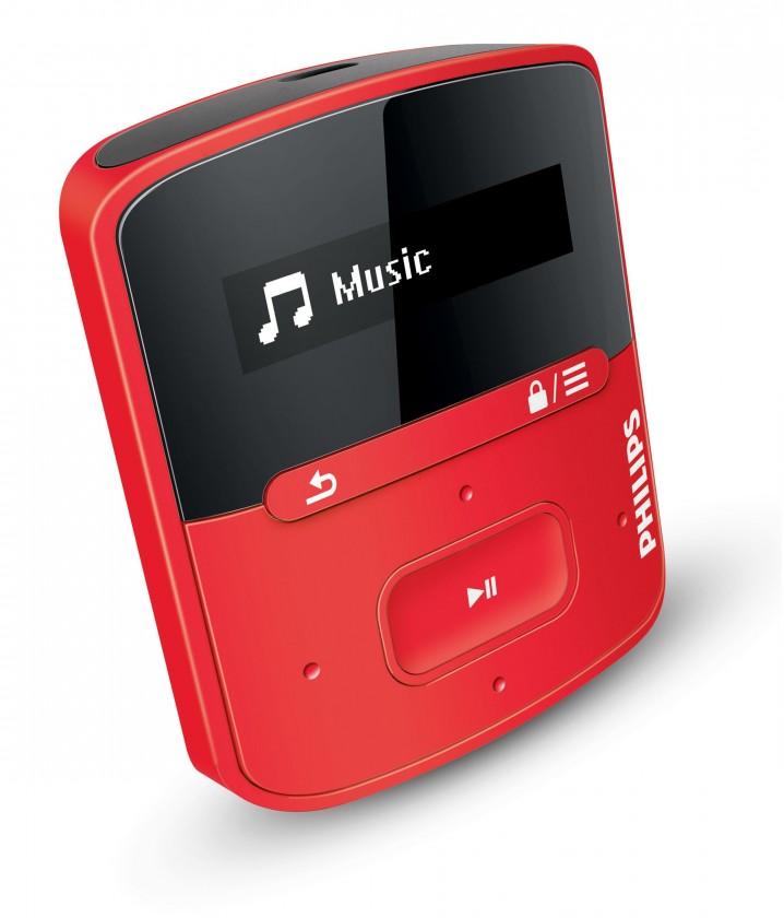 MP3, MP4 prehrávače,discmany  Philips SA4RGA04RF