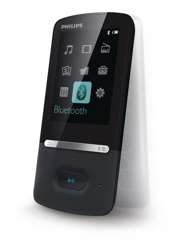 MP3, MP4 prehrávače,discmany Philips SA5AZU04KF 4 GB